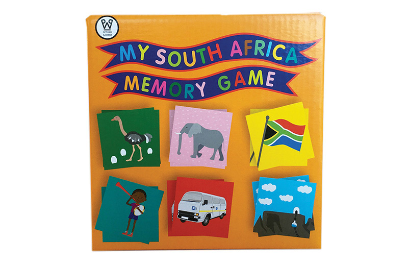 South Africa Memory Game