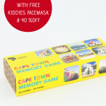Cape Town Memory Game with Free Kiddies face Mask